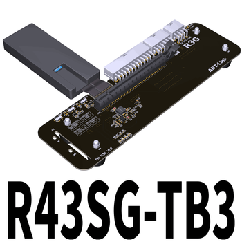 ADT Link R43SG TB3 PCIe X16 PCI-e X16 To TB3 Extension Cable PCI Express Cables EGPU Adapter Thunderbolt 3 Docking Station