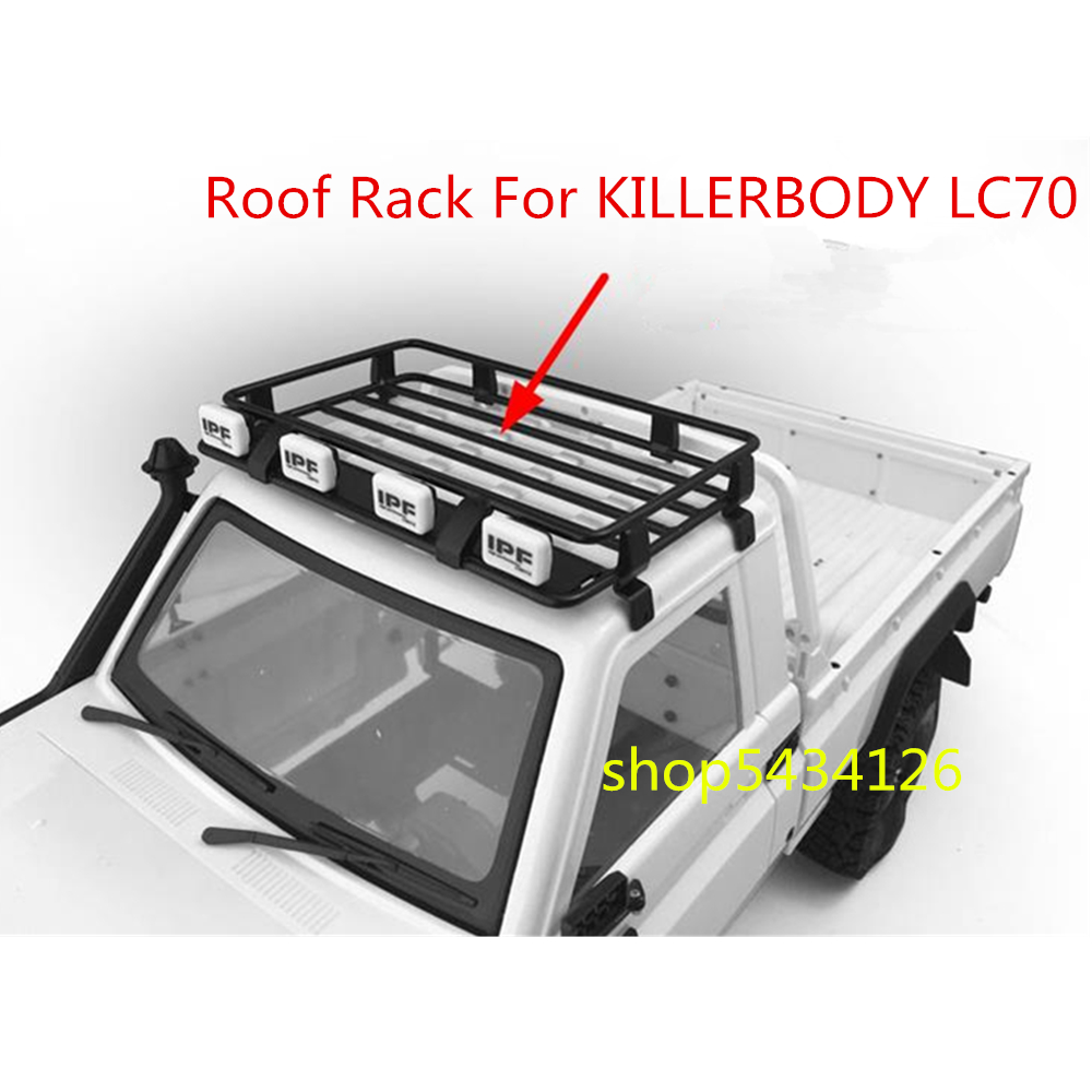 ARB Metal Roof Rack For RC4WD 1/10 KILLERBODY LC70