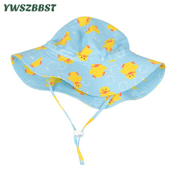 цена на New Spring Summer Baby Girls Hat Kids Boys Sun Hat Small Duck Cotton Baby Hat Autumn Infant Hat Toddler Child Cap