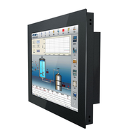 10 12 15 17 21.5 inch android Cheap Wall Mount Small Touch Screen Monitor Panel pc