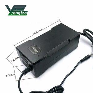 Image 2 - Yangtze cargador de batería de 67,2 V 3A para batería de litio de 60V 3A, alimentador de energía de bicicleta eléctrica, herramienta para refrigeradores y altavoces