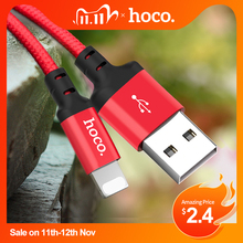 HOCO Cable USB de carga rápida para iPhone, Cable de datos de carga rápida para iPhone 8, 7, 6, 5 plus, 11 Pro, X, XS, Max, XR, iPad