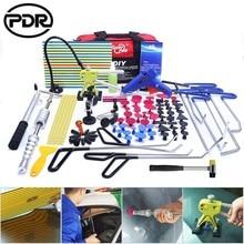 Herramientas PDR para carrocería de coche, herramienta de extracción y reparación de abolladuras sin pintura, barras de empuje de acero inoxidable, Kit de palanca, reparador de abolladuras de coche, extractor de abolladuras