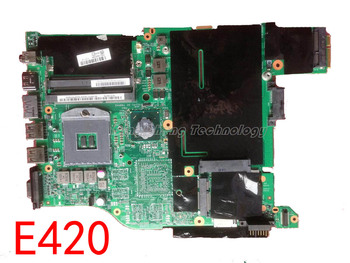HOLYTIME laptop Motherboard for Lenovo IBM E420 with integrated graphics card DDR3 04W0394 100% tested Fully