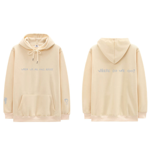 BILLIE EILISH WHEN WE ALL FALL ASLEEP WHERE DO WE GO HOODIE