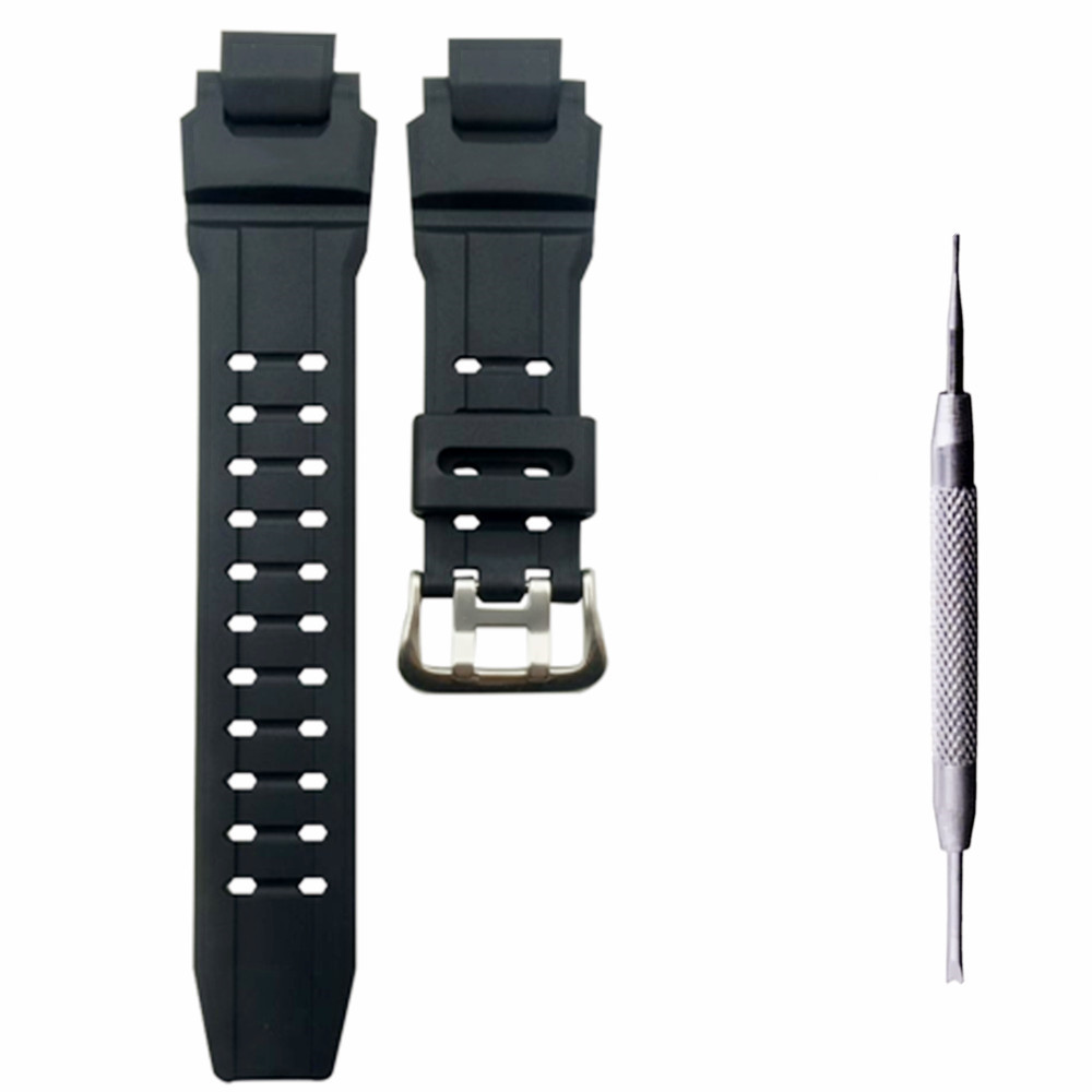 Watchband For G-Shock GW4000/GW-A1100/GW-A1000/G-1400/ Wristwatches Strap Rubber Wristband Watch Belt Bracelet Replace