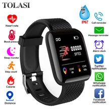 Smart Bracelet Blood Pressure Measurement Waterproof Fitness Tracker Watch Heart Rate Monitor Pedometer Smart Band Women Men 116plus smart bracelet waterproof fitness tracker watch heart rate blood pressure monitor pedometer smart band women men