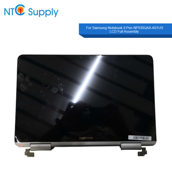 NTC Supply Brand New 13.3 inch silver color For Samsung Notebook 9 Pen NP930QAA-K01US LCD Display Full Assembly