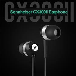 Original Sennheiser cx 300 ii 3.5mm Stereo Earphones  Deep Bass Wired Headset Sport Earbuds Precision HIFI Headphone