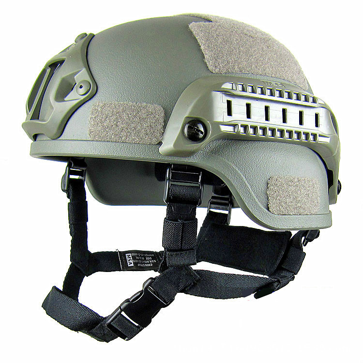 Light fast tactical helmet military fan water cannon helmet special goggles guide camouflage combat helmet
