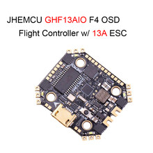 JHEMCU GHF13AIO Betaflight MPU6000 F4 OSD FPV Racing Flight Controller w/ Built-in 13A 4in1 Brushless ESC for RC Drone RC Parts