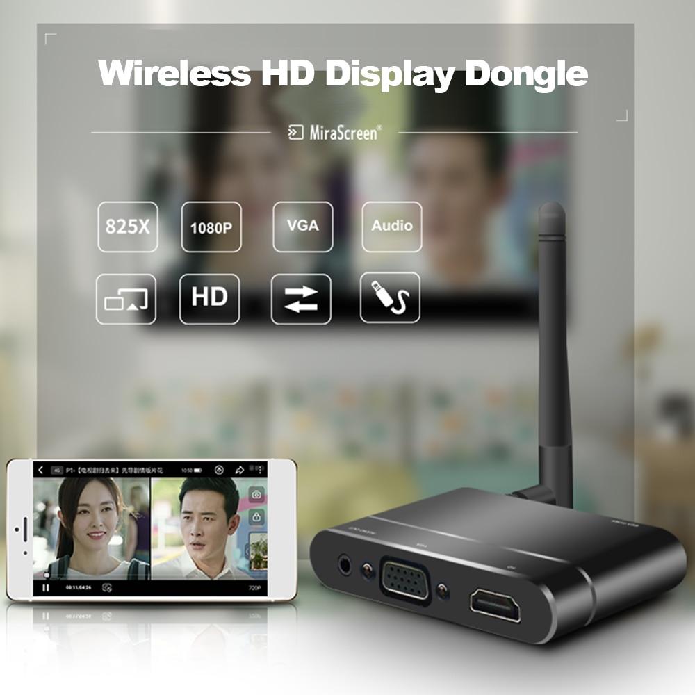 vídeo hd 1080 p hdmi vga adaptador