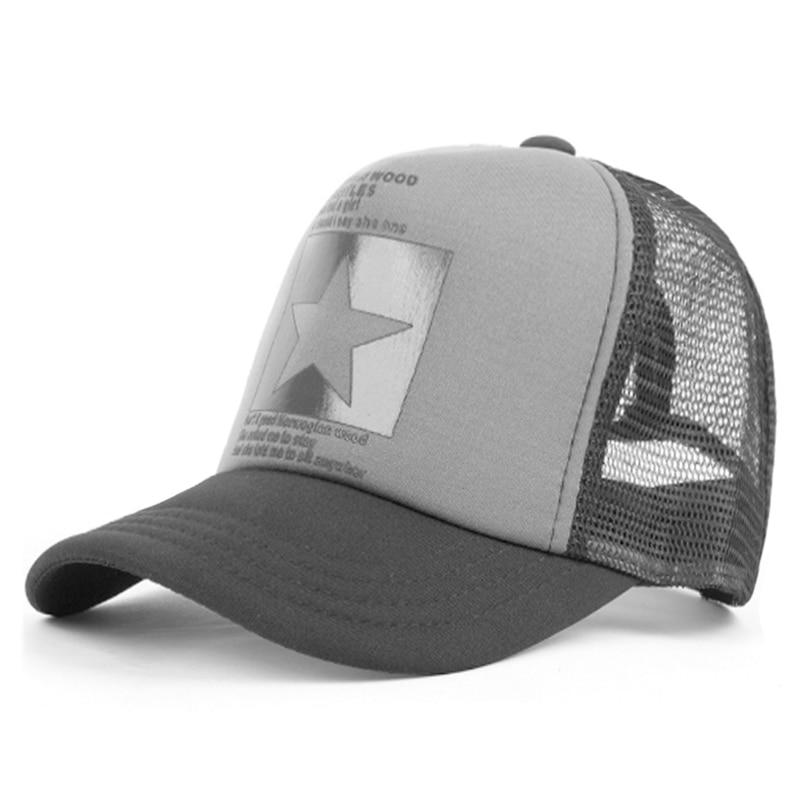 BISONJS 2020 новая пятиконечная сетчатая бейсбольная кепка для мужчин и женщин, летняя модная открытая шляпа от солнца, уличная Кепка в стиле хип-...