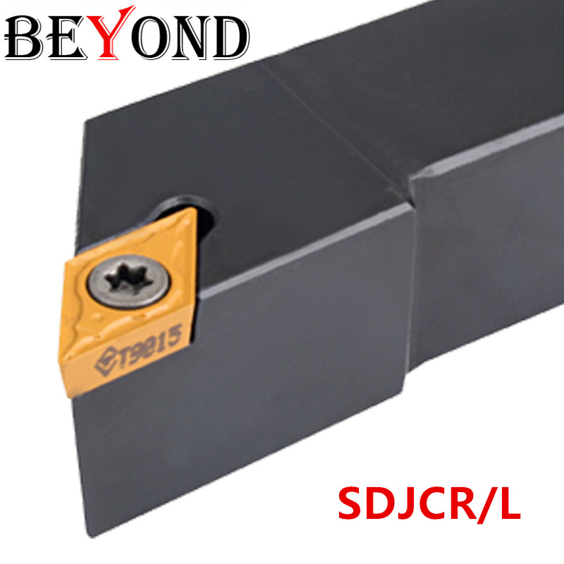 BEYOND SDJCR2525M11 SDJCR1616H11 Turning Tool Holder SDJCR2020 Lathe Cutter SDJCR 2525 Boring Bar Carbide Inserts DCMT11T308 Cnc