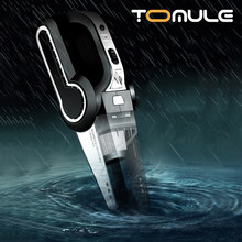 Tomule Auto Stofzuiger Draagbare Handheld Auto Vaccume Cleaner Opblaasbare, Bandenspanning Monitoring, led Verlichting Voor Auto/Home
