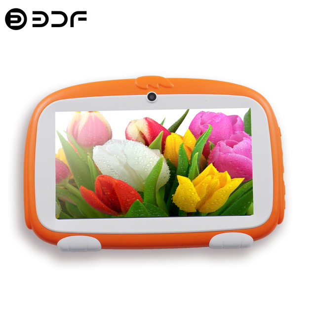 New Design 7 Inch Kids Tablets pc WiFi Quad core Dual Camera 8GB Android 4 4