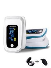 Oximétrico de dedo oxímetro de dedo oximetria clipe monitor de freqüência cardíaca medidor de oxigênio