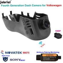 Camera Volkswagen Touareg Dash-Cam Tiguan Auto Full-Hd for Vw Golf Polo Passat Touran