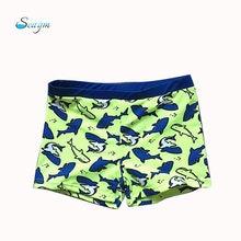 9 スタイルプリント男の子子供水泳パンツショーツ 3 色包帯子供水着水泳トランク水着夏水着 a108