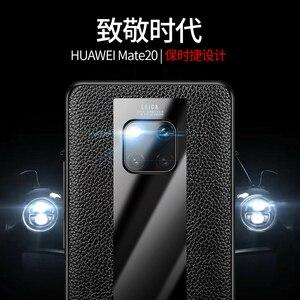 Image 2 - אופנה מקרה עבור Huawei Mate 20 RS פורשה עיצוב זכוכית מראה מקרה הגנת כיסוי מעטפת עבור Huawei Mate RS פורשה עיצוב