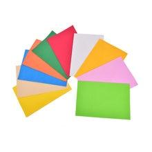 10 folhas de espessura multicolorido a4 esponja eva espuma papel crianças artesanal diy mão artesanato cor papel