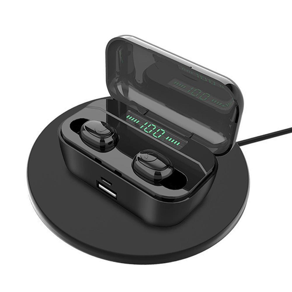 3500mah G6S tws T1 Pro fone de ouvido bluetooth 5.0 écouteurs sans fil stéréo basse écouteurs casques avec micro charge sans fil