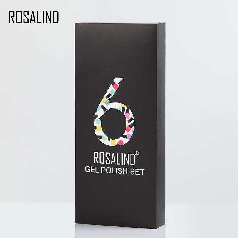 rosalind 6 pcs lote cor solida serie 04