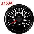Amperemeter 150A painel Универсальный Мото Автомобиль Лодка 52 мм Ампер Измеритель тока 9-32 В с красной подсветкой для автомобиля мото rcycle авто