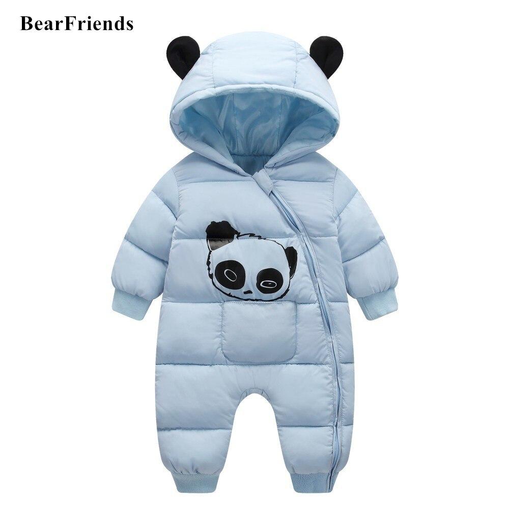95sCloud Baby Schneeanzug Print Cartoon Panda Winter Overalls mit Kapuzen S/äuglingsbaby Junge M/ädchen Spielanzug Strampler Jacke Warm Jumpsuit Mantel Coat Outfit Tops Kleidung Babykleidung