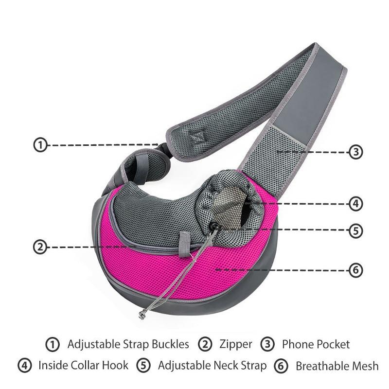 Pink Puppy Poodle Sport Waist Bag Fanny Pack Adjustable For Travel