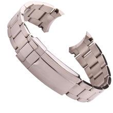79 г люксовый бренд часы ремешок 20 мм 21 мм Мужские полностью из нержавеющей стали ремешок RX Sub-mariner DEEPSEA браслет A50