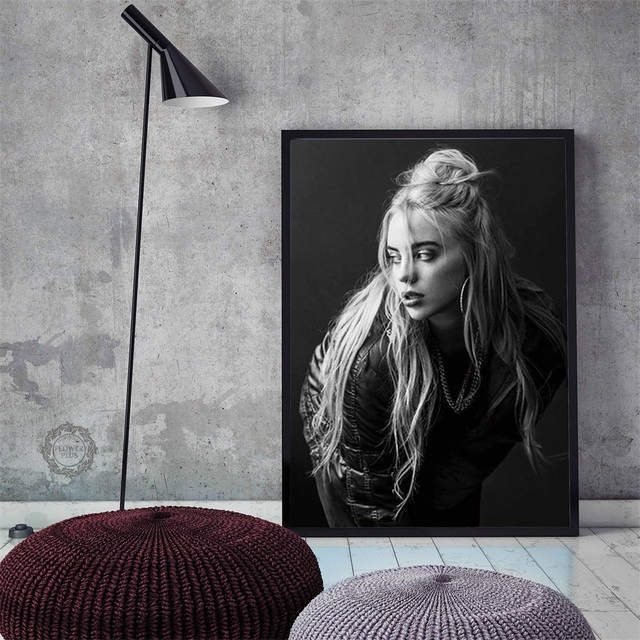 BILLIE EILISH WALL POSTER (7 VARIAN)