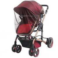 Crianças carrinho de bebê carrinho de criança mosquito inseto malha segura buggy carrinho de rede mosquito carrinho completo cobre 2020