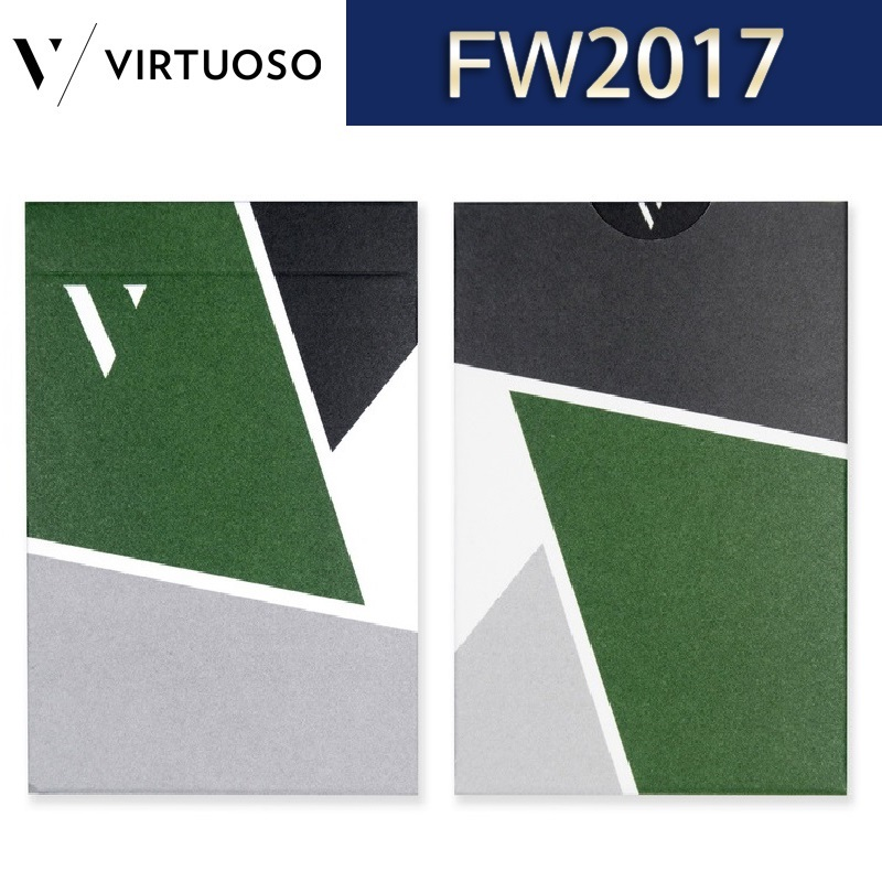Virtuoso Fall Winter 2017 FW17 Playing Cards New Edition Premium Cardistry Deck Poker Magic Card Games Magic Tricks Props image