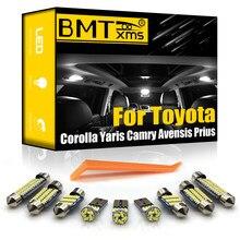 BMTxms – lampe d'intérieur LED pour voiture, Canbus, pour Toyota Corolla E12 E120 Auris E150 Prius 20 30 ZVW30 Yaris Camry Avensis T22 T25 T27