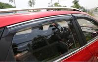 Auto rain shield window visor,door visor window deflector sun visor for MG ZS, 4pcs. car accessories