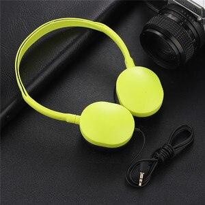 Image 5 - Kinder Kopfhörer Faltbare Einstellbare Verdrahtete Kopfhörer Headset mit 3,5mm Audio jack für Kinder Mp3 Smartphone