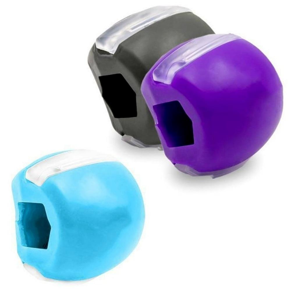 1 шт. уход за кожей лица жевательной подбородка мяч для упражнений рот челюсти мышц влагалища, который поможет избавиться от жевать мяч жева...