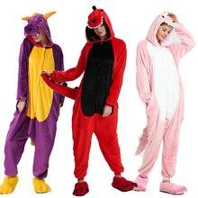 Кигуруми пижамы для взрослых, Женская фланелевая одежда для сна с единорогом, домашняя одежда, пижамные комплекты с рисунком панды Тоторо, Мультяшные животные, пижамы, пижамы