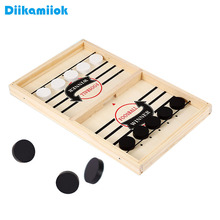 New Kids Slingpuck Board Game Puzzle Children Montessori Toys Hand-eye Coordination Training Table Football Battle Party Games