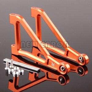 Image 4 - ENRON bras de Suspension supérieure avant, en aluminium, 2 pièces, 1/7 1:7 #8531 pour Traxxas Desert Racer UDR illimité