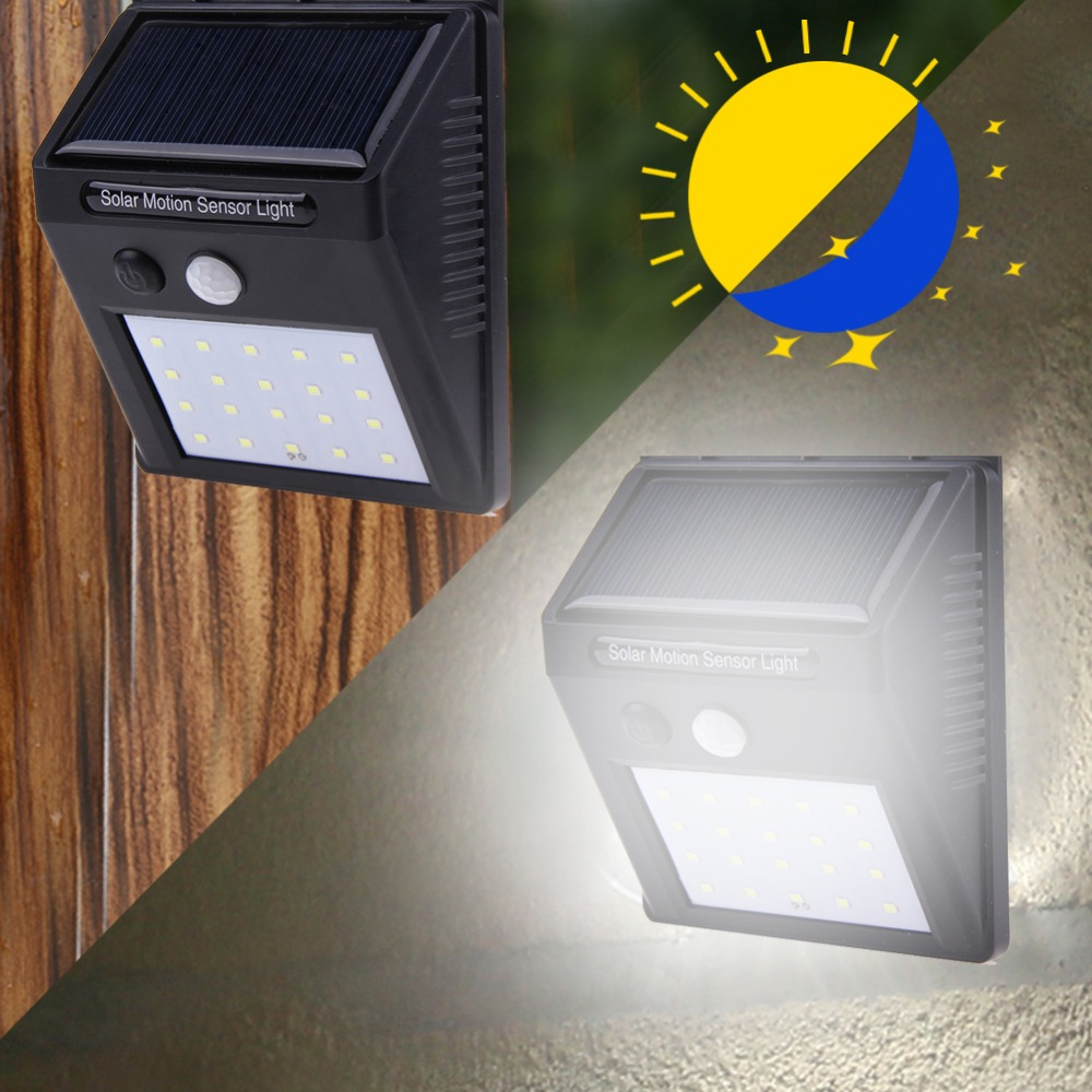 COB Wall Mounted Solar Outdoor Light with 120LED and Motion Sensor Suitable for Street and Garden 31