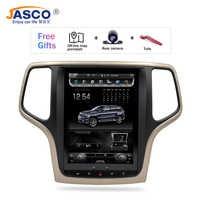 10.4Vertical Screen Android 7.1 Car DVD GPS Glonass Navigation Radio Player for Jeep Grand Cherokee 2013-2016 RAM 2GB 32G Stereo
