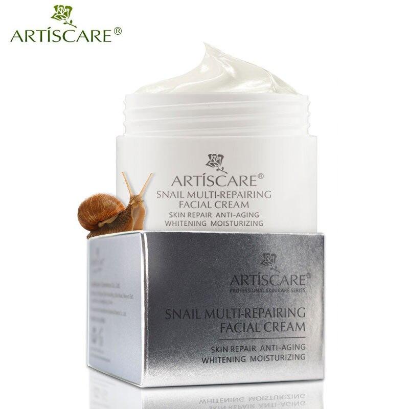 ARTISCARE Snail Repair Facial Cream Aging Aniti Oil-Control Face Cream Anti Wrinkle Shrink Pores Moisturizing Lifting Skin Care
