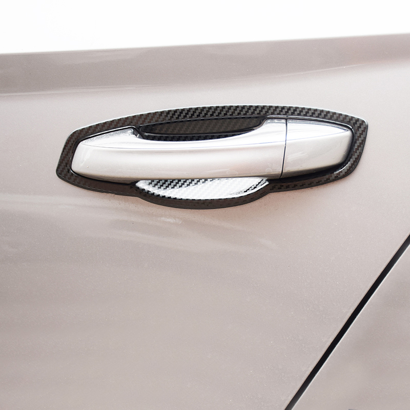 For Cadillac XT5 2016-2018 Chrome Side Door Handle Bowl Cover Trim Protector