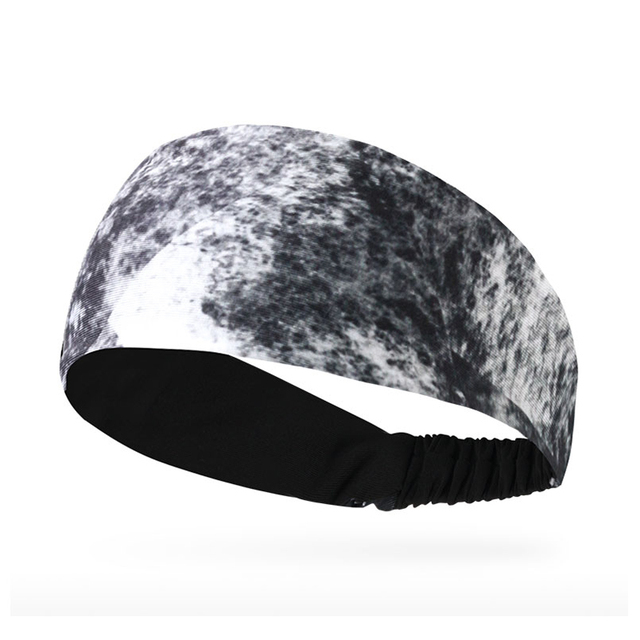 Breathable Absorbent Sports Headband Lycra Sweat Perspiration Basketball Fitness Running Sweat Head Band Belt 2