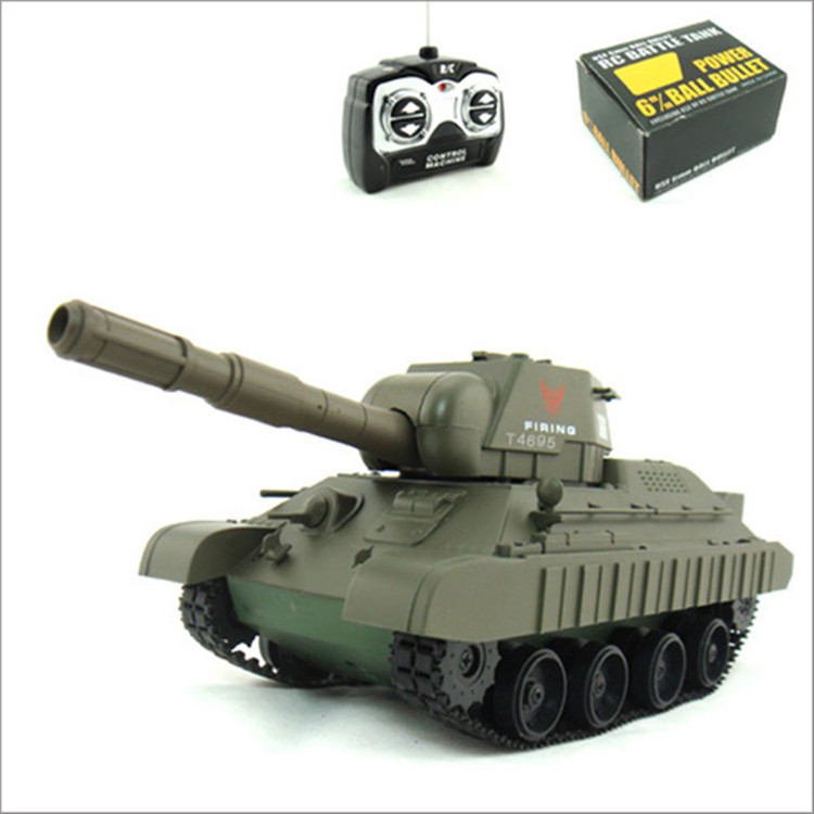Military Model Remote Control Tank Wireless Electric CHILDREN'S Toy Baby Sent Children Birthday Gift