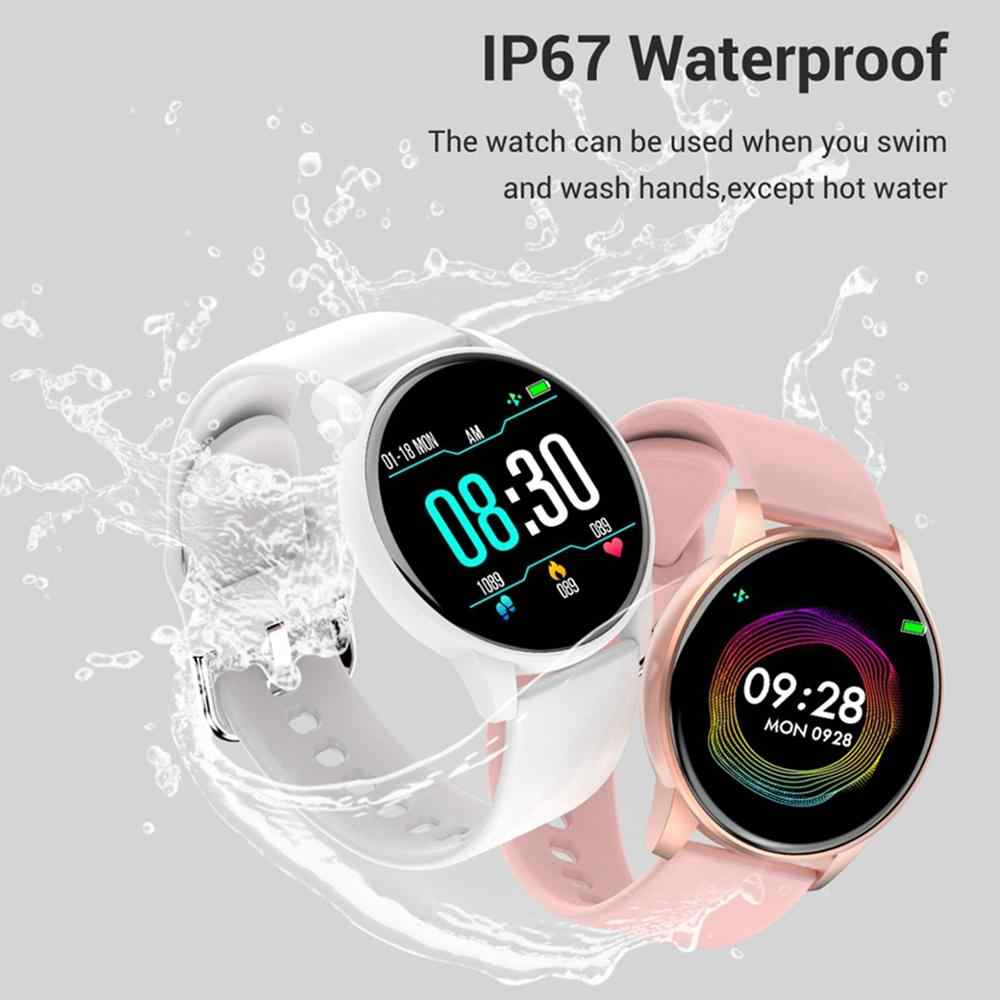 ساعة ذكية الرجال النساء معدل ضربات القلب مراقبة ضغط الدم توقعات الطقس LEMFO Smartwatch مقاوم للماء للهاتف أندرويد IOS
