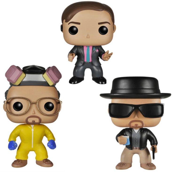 FUNKO POP Bad Heisenberg Bad SAUL GOODMAN ไวนิล Action Figures Collection ของเล่น