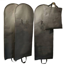 Garment-Bags Dust-Cover Tote-Protective-Covers Wedding-Dress Washable-Storage Non-Woven-Fabric